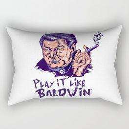 Play it like Baldwin! Rectangular Pillow