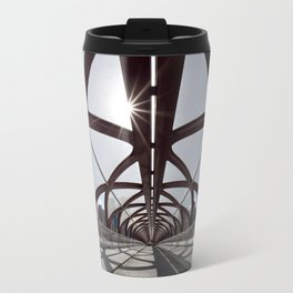 Calgary Peace Bridge; great Architecture Travel Mug