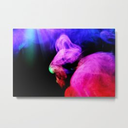 Mistical Experience Metal Print