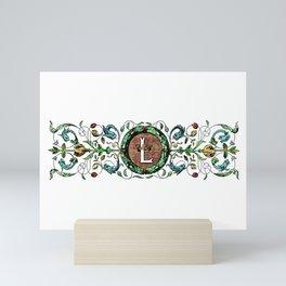 The Initial L Mini Art Print