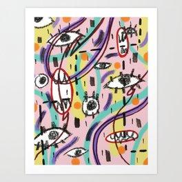 EyesEyesBaby Art Print