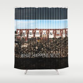 Terminus Shower Curtain