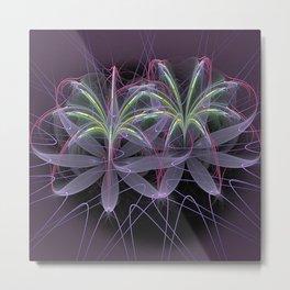 Dazzle Lilies Metal Print