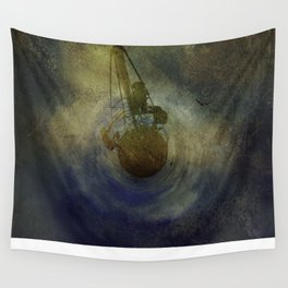 Where Are We Now - created on iPad Wall Tapestry