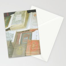 Bookstore in Budapest Stationery Cards