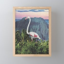 Flamingo Framed Mini Art Print