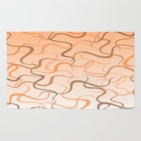 wave Area & Throw Rugs featuring Wave by ArtSchool