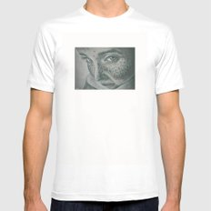 pecas! MEDIUM Mens Fitted Tee White