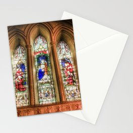 Stained Glass Windows Stationery Cards
