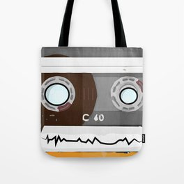 The cassette tape Robot Tote Bag