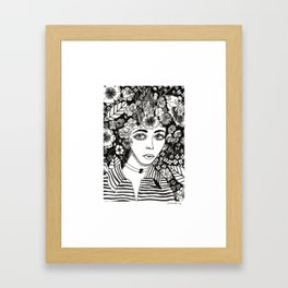 Flourish ideas and get lost in them. Framed Art Print