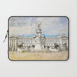 Buckingham Palace, London England Laptop Sleeve