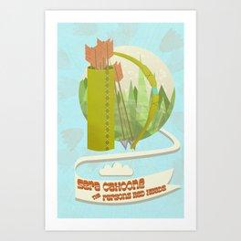 Sera Cahoone Poster Art Print