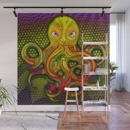 Mellow Yellow Octo Wall Mural