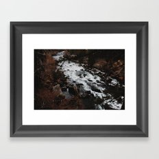 Flowing River Framed Art Print