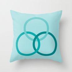 THE BOUND Throw Pillow
