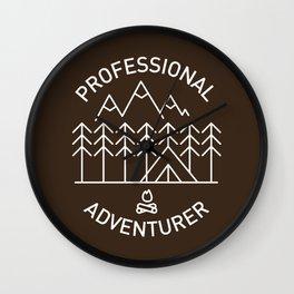 Professional Adventurer Wall Clock