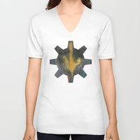 arrow V-neck T-shirts featuring Arrow by Geni