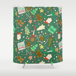 Baking Up Warm Wishes Shower Curtain