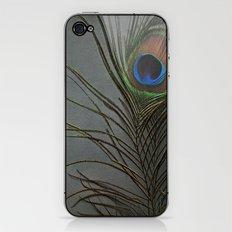 Peacock Morning iPhone & iPod Skin