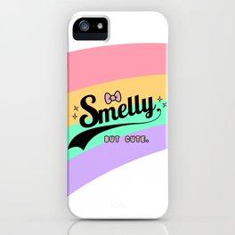 smelly but cute - fairy kei kawaii harajuku iPhone Case