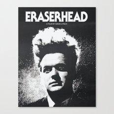 ERASER HEAD - DAVID LYNCH - CINEMA POSTER Canvas Print
