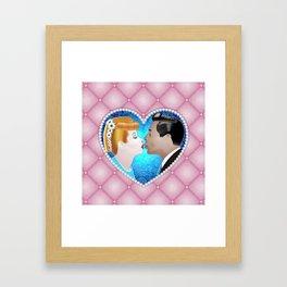 Ricky Loves Lucy Framed Art Print