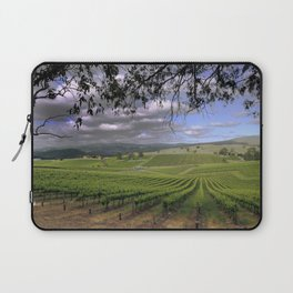 Stormy Day in the Vineyard Laptop Sleeve