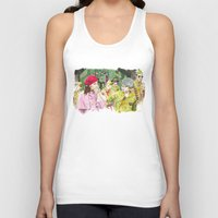 moonrise kingdom Tank Tops featuring moonrise kingdom by jgart