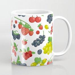Colorful Berries Pattern Coffee Mug