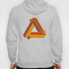 Abstraction_TRIANGLE_ILLUSION_Minimalism_001 Hoody