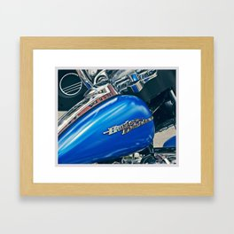 Color Theory, Blue Framed Art Print