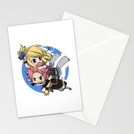 Natsu & Lucy Stationery Cards