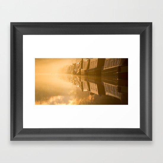 Touching the Dawn Framed Art Print
