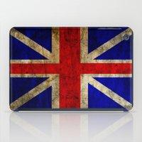 british flag iPad Cases featuring British Flag by Jason Michael