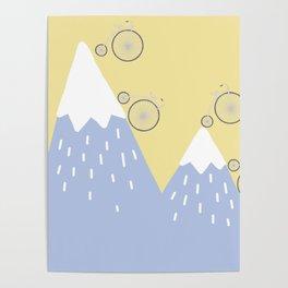 Mountain biking Poster