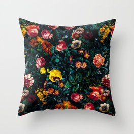 Night Garden XXX Throw Pillow