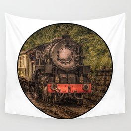 Steam Train Wall Tapestry