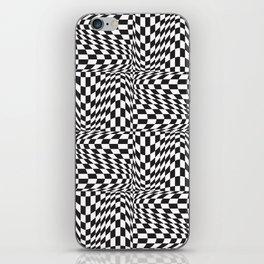 Check Twist iPhone Skin