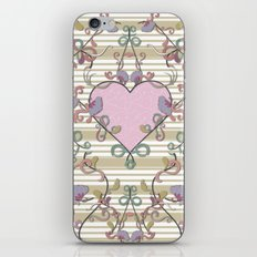 Vintage Summer Love iPhone & iPod Skin