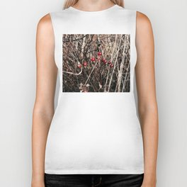 Thorned Berries of Winter Biker Tank