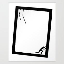The Tilt Art Print