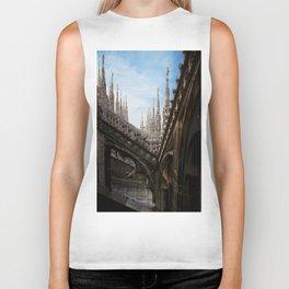 Duomo di Milano spires Biker Tank