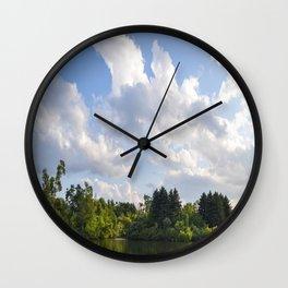 LOAFERS LAKE Wall Clock