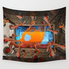 Octopus by GEN Z Wall Tapestry