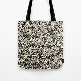 Relief Pattern Abstract Tote Bag