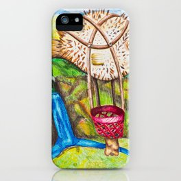 The Blowfish Adventure - Mazuir Ross iPhone Case