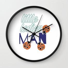 Little Boy Valentine gift Kids Man Wall Clock
