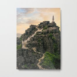 Vietnam Stunning View Fine Art Print  • Travel Photography • Wall Art Metal Print