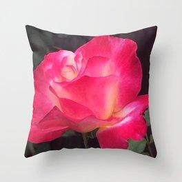 Grandma's Beautiful Rose Untouched Throw Pillow